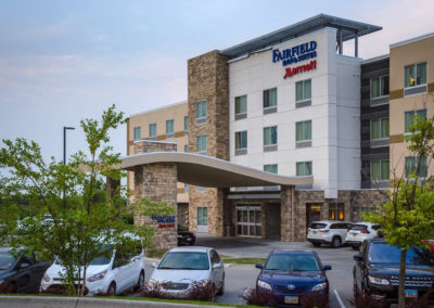 Fairfield inn & suites marriott at Midlands Place in Papillion NE Nebraska